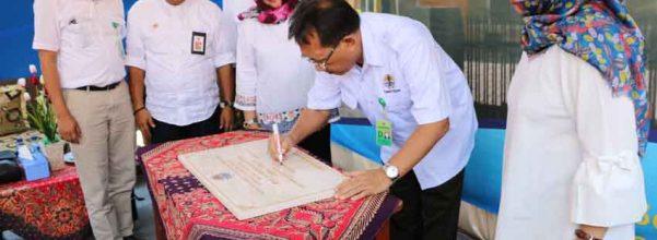 Peresmian Kantor SKW III Surabaya